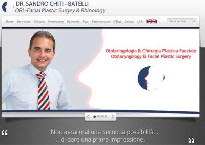 dr Sandro Chiti-Batelli